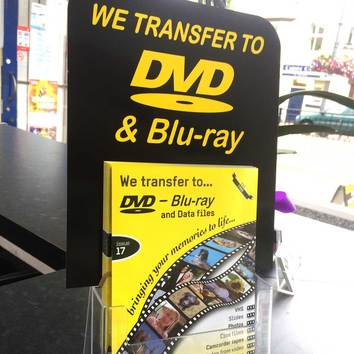 Transfer film to DVD Services